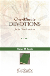 One-Minute Devotions, Cycle C, MorningStar Music 90-46
